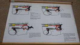 Esploso pistole 9 mm x 19, P1