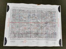 Carta Geografica TEDESCA Mappa  Le Vigan - ww2 (##)