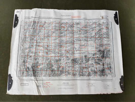 Carta Geografica TEDESCA Mappa Andorra - ww2 (##)
