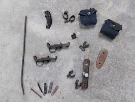 Accessori parti ricambio MAUSER, Carbine M1, Schmidt & Rubin, GARAND - ww2 - n. 20 originali