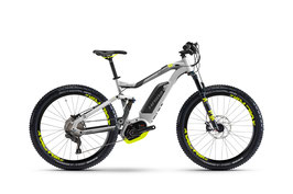 Haibike Xduro FullSeven 6.0 2017 Zilver/Antraciet/Lime