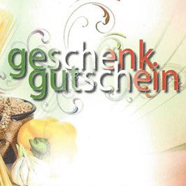 Restaurant Gutschein