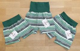 "Shorts ""Green Stripes"""
