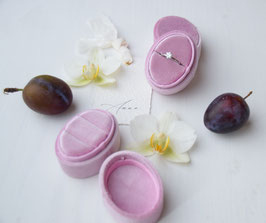 Ring Box oval ORCHIDEE