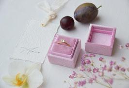 Ring Box quadratisch ORCHIDEE