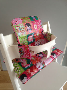 Stokke bekleding geplastificeerd - Girls multiculti