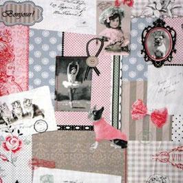 Stokke Tripp Trapp bekleding - Bonjour roze