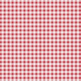 Bobike bekleding - Grote ruit rood