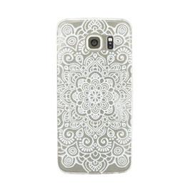 Telefoonhoesje lace wit - Samsung Galaxy S6