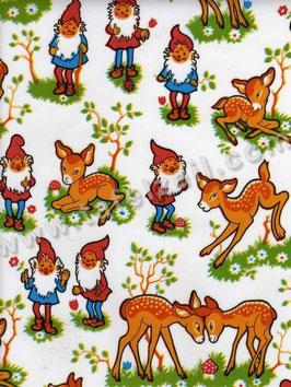 Bobike bekleding - Bambi en kabouters