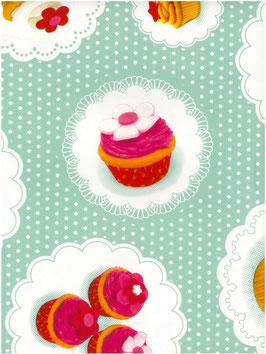 Bobike bekleding - Cupcakes mint