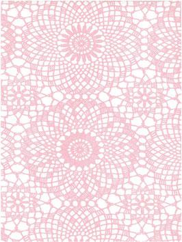 Bobike bekleding - Contour roze