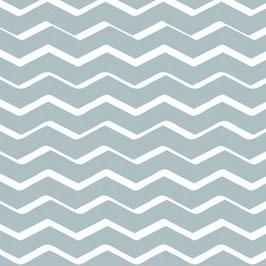 Bobike bekleding - Zigzag lichtblauw