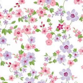 Bobike bekleding - Fleurette roze