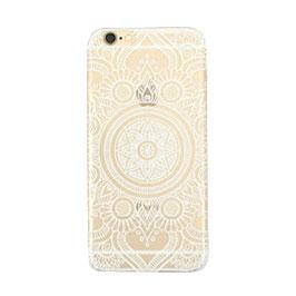 Telefoonhoesje mandala wit - Iphone 6
