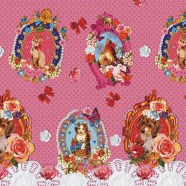 Bobike bekleding - Sweet animals roze