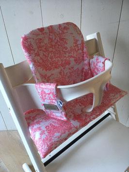 Stokke bekleding geplastificeerd - Ambacht roze