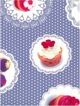 Bobike bekleding - Cupcakes paars