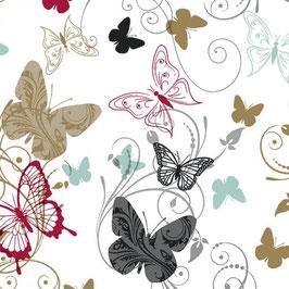 Bobike bekleding - Vlinders
