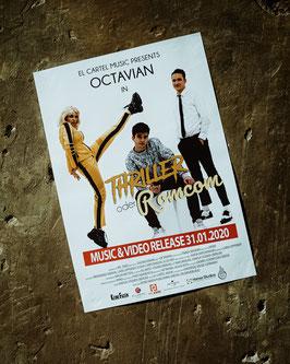 """Poster """"Thriller oder Romcom"""""""