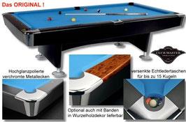 Billardtisch CLUB MASTER, Ein Tisch, der das Herz jedes Billardpielers höher schlägen läßt.
