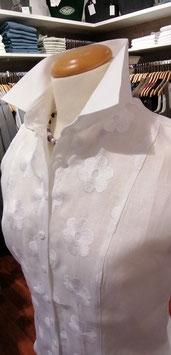 Bluse ärmellos mit Stickerei von Wallmann