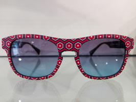 Sonnenbrille von EYEYE rot/schwarz