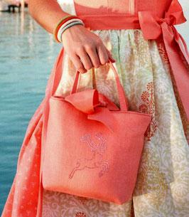 Tasche lachs von Susanne Spatt