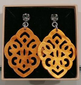 Edele Ohrringe von der Designmanufaktur SEENBERG - braun