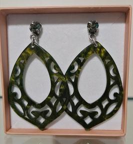 Edele Ohrringe von der Designmanufaktur SEENBERG - grün