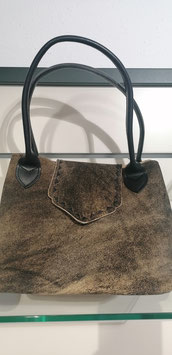 Handtasche Hirsch mit Lasche