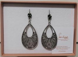 Edele Ohrringe von der Designmanufaktur SEENBERG - Ornamenttropfen