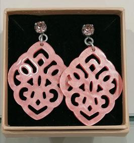 Edele Ohrringe von der Designmanufaktur SEENBERG -lachs