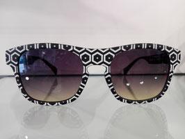 Sonnenbrille von EYEYE in weiß-schwarz