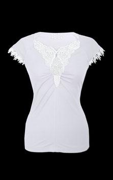 Shirt in weiß von Mothwurf