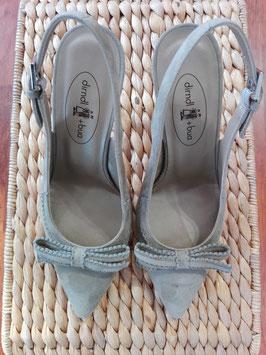 Schuhe mit Bleistiftabsatz salvia von Dirndl & Bua