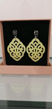 Edele Ohrringe von der Designmanufaktur SEENBERG - gelb