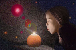 By Blowing on the Candle  -23-