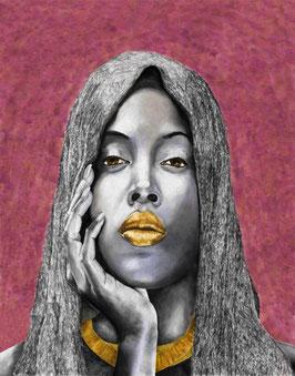 Portrait of a Veiled Woman -5-