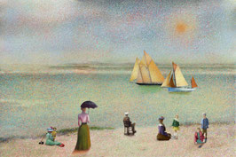 Regatta on the Gironde River Early 20Th Century  -26-