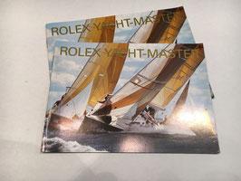 Libretti Rolex  Yacht Master  anni 90'