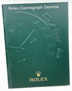 Libretto Rolex 116520