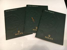 Libretti Rolex GMT II  Explorer II