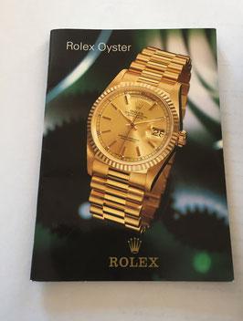 Libretto  Rolex 130.05 I