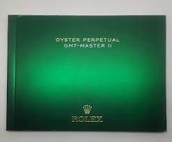 Libretti Rolex  GMT- Master II  nuovo