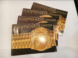 Libretti rolex oyster