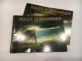 Libretti Rolex  Submariner  anni 90'