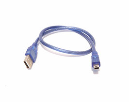 Cable USB Type A vers mini B