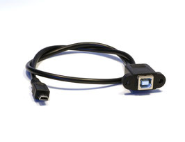 PRISE USB TYPE B VERS MINI B A FIXER