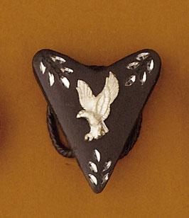 Bijou de foulard aigle